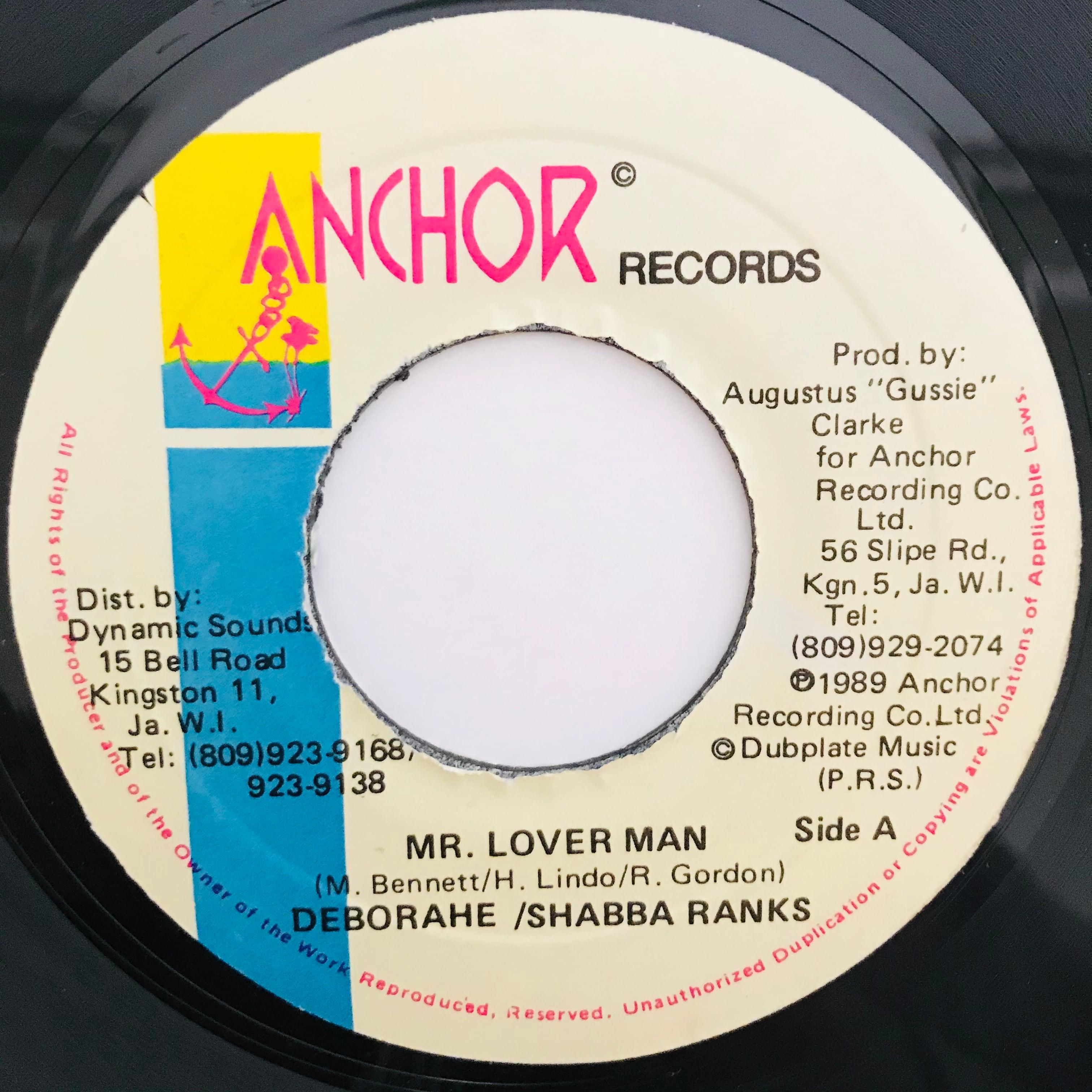 Deborahe /& Shabba Ranks - Mr. Lover Man【7-11009】