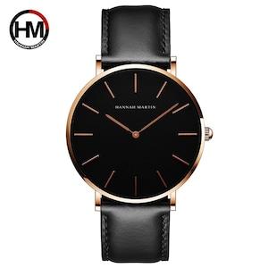女性のファッション時計因果革ストラップ日本クォーツムーブメントトップ高級ブランド腕時計防水relogiofemininoCH02-FH