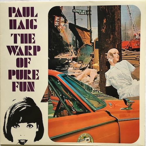 【LP・ベルギー盤】Paul Haig  /  The Warp Of Pure Fun