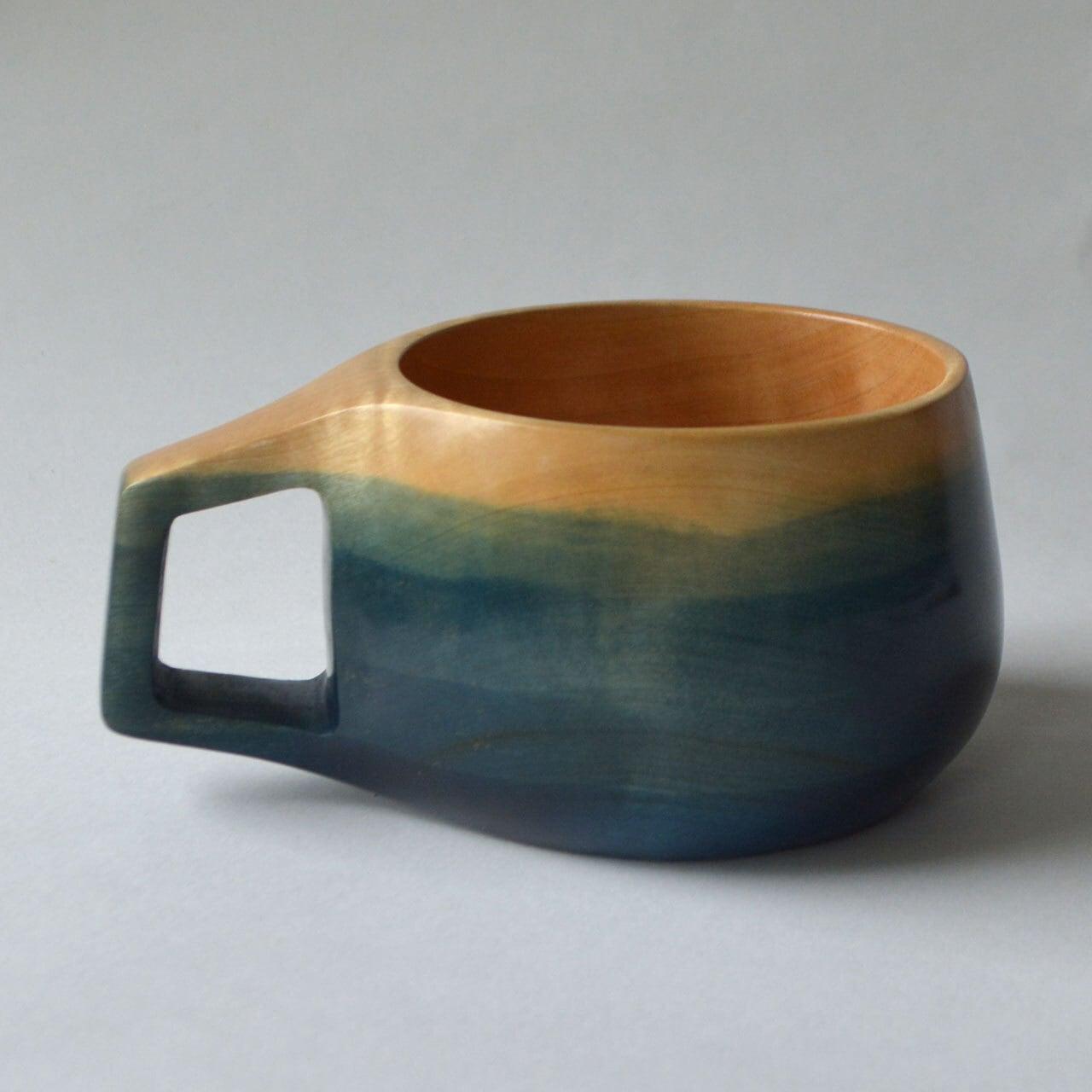 栃 藍染 TOCHI Indigo Dyed CUP -  TA05
