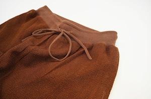 mesh design trousers