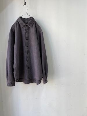 """DA'S/Clavel Shirt """"nevada grey""""(ダズのクラヴェルシャツ,ネバダグレイ)"""