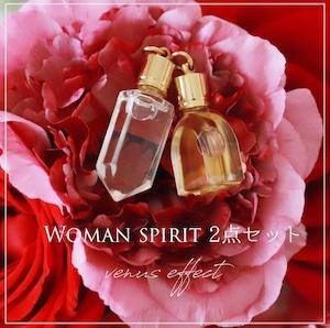 Woman Spirit 2点セット【奇跡の香油シリーズ】