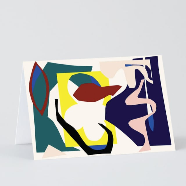 WRAP / ABSTRACT 2 ART CARD -Illustrated by Antti Kekki-