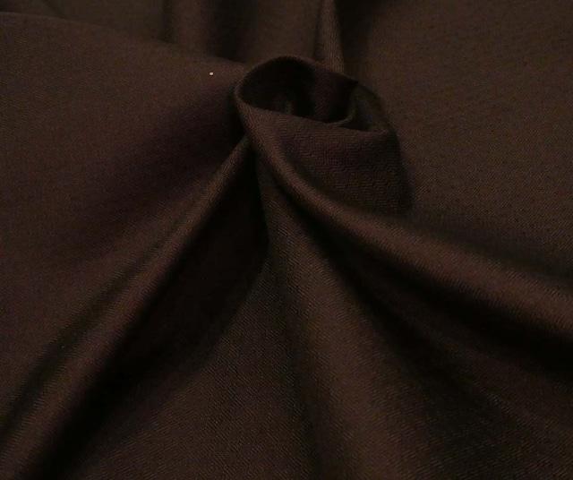 米沢 泥草木染綾織紬