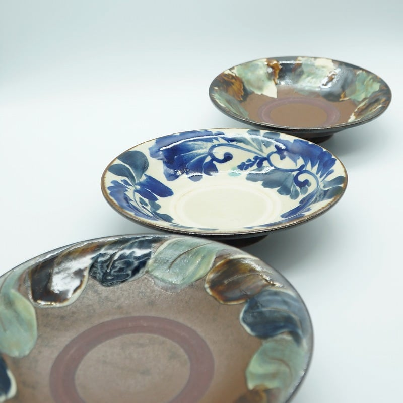 N様オーダー品 6寸皿 3.5寸皿 【石倉陶器所】