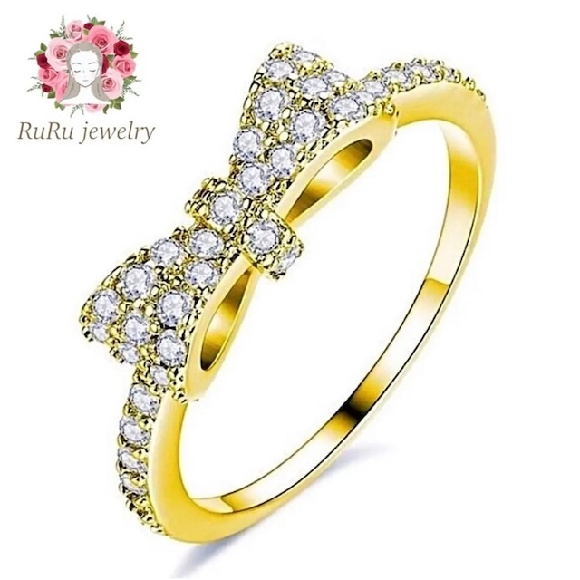 cute ribbon ring