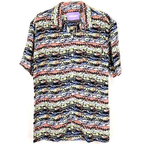 ALLTIMERS【Dads Matrix Button Up Shirt】