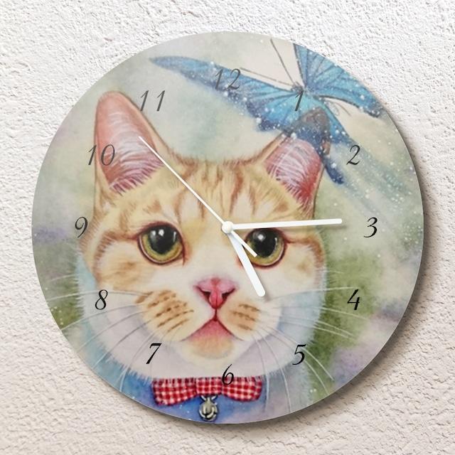 幸せの行方壁掛け時計(L)