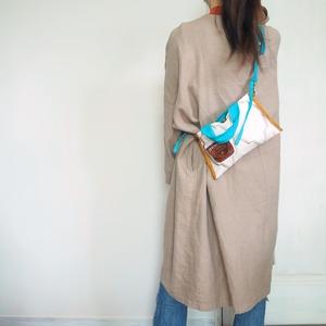 布と革のバッグ Bag-0134