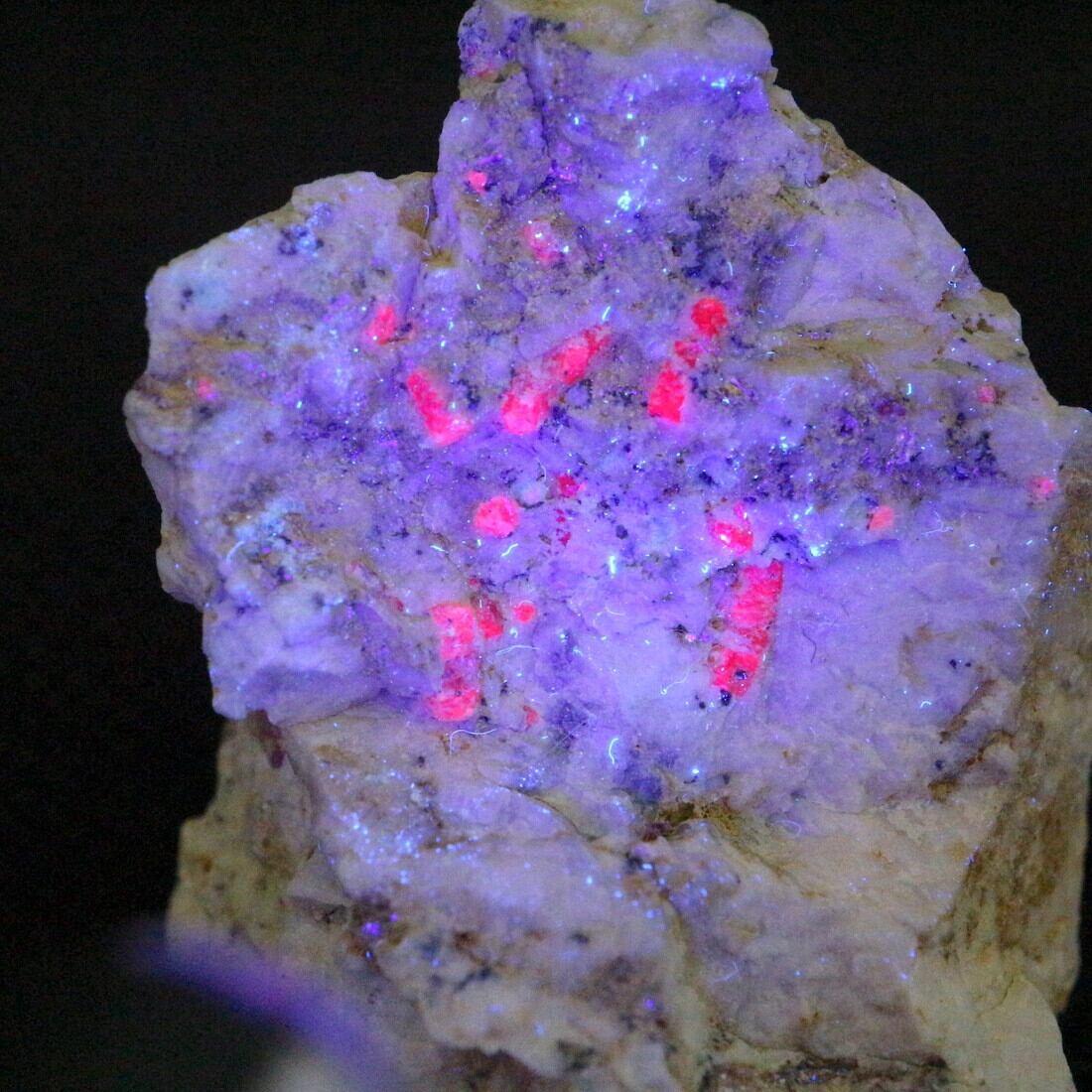 カリフォルア産 コランダム ルビー サファイア 原石  41,4g CRD050 鉱物 天然石