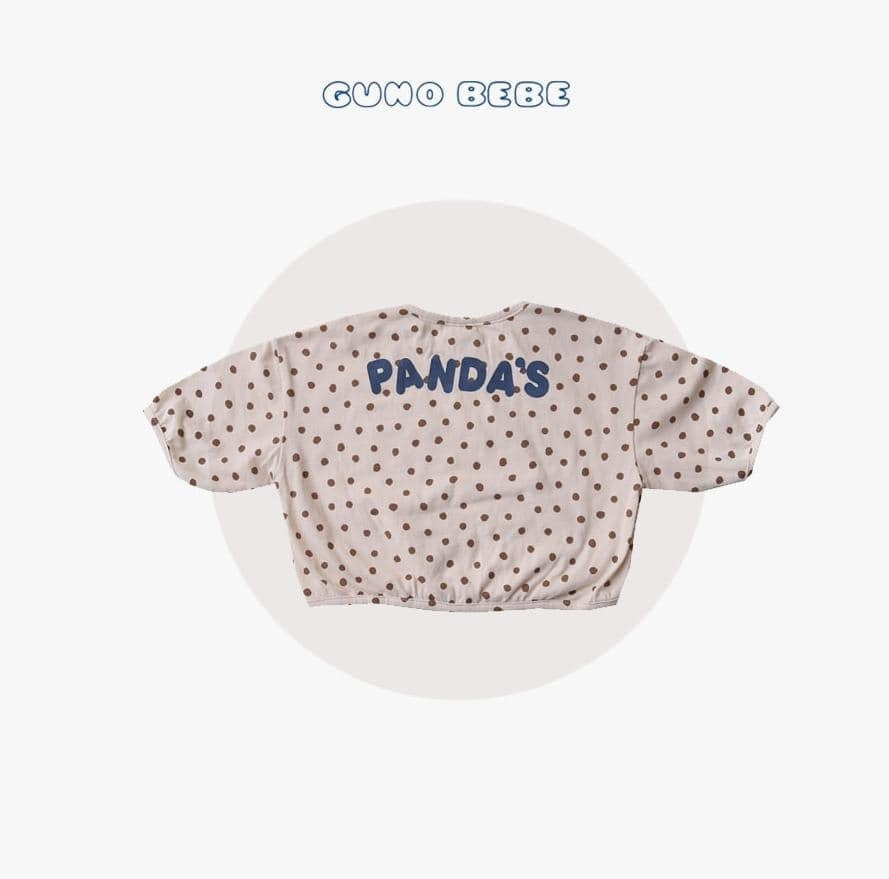 «sold out»«bebe» guno bebe panda tops 2colors パンダ トップス