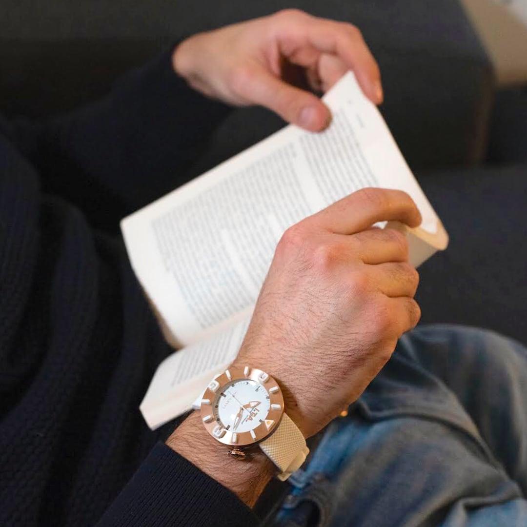 【I.T.A. アイティエー】DISCO VOLANTE ディスコ・ボランテ(ホワイトゴールド)/国内正規品 腕時計