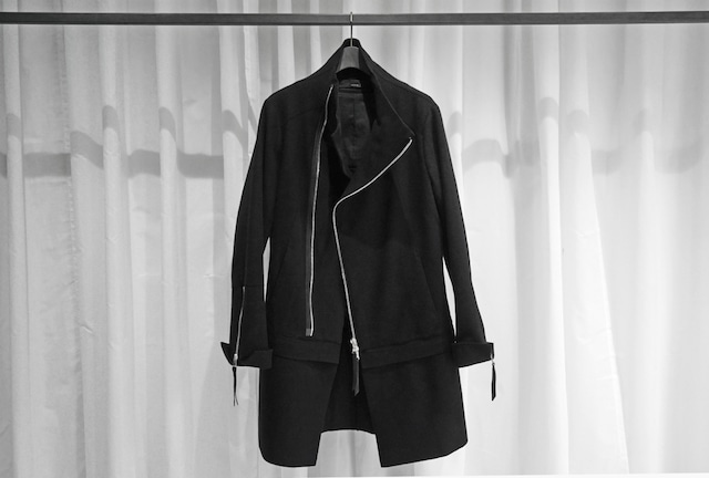 ASKYY / REMOVABLE COAT / BLK