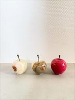 Marble Apple  S size  (ホワイト / ストライプ / レッド )