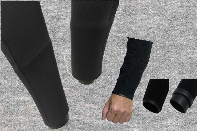 【オプション】W構造システム両手首(1箇所3400円X2箇所)