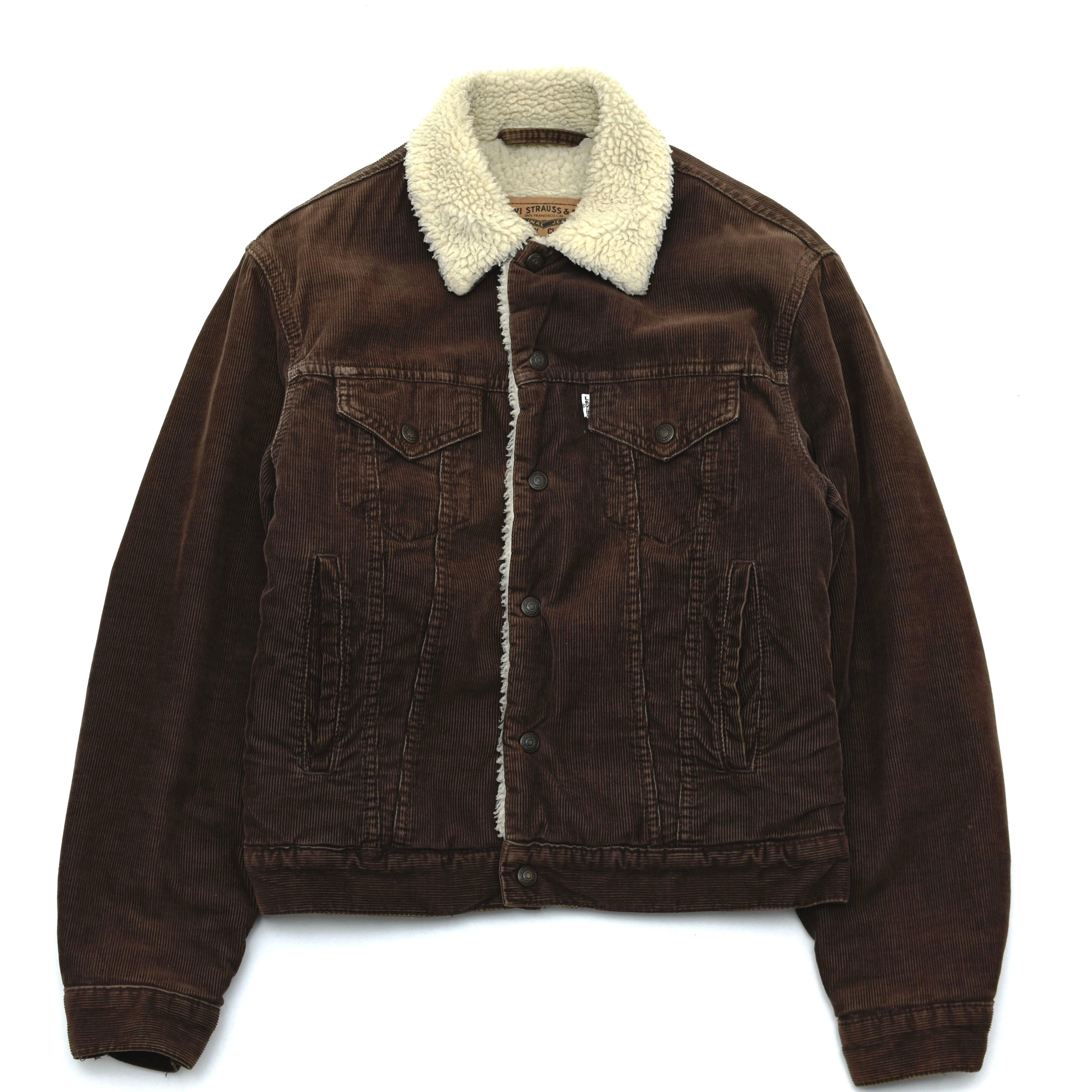 90's Levi's 71500 corduroy boa jacket