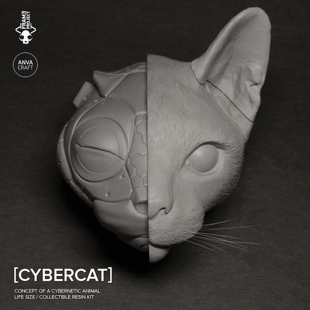ANVA CRAFT CYBERCAT - 1/1 resin model kit