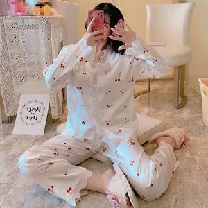 デザインいっぱい♡選んでほしい長袖パジャマ