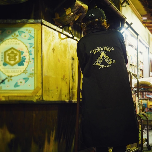 Forever Long Coat BLACK
