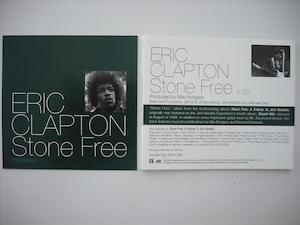 【CD single】ERIC CLAPTON / STONE FREE (1track Promo)