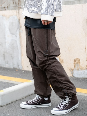 【MENS - 1 size】SIDE GATHER PANTS / 2colors