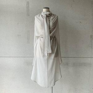 【COSMIC WONDER】Cotton silk chiffon scarf shirt/14CW73027