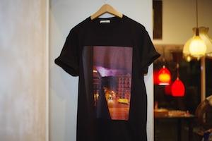 "Men's & Ladies's / printed TEE of ysora 2 "" lightning of a night """