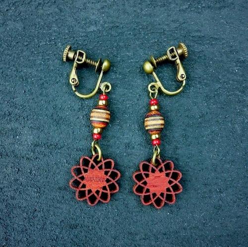 geometric earring EKJ-WB-PD