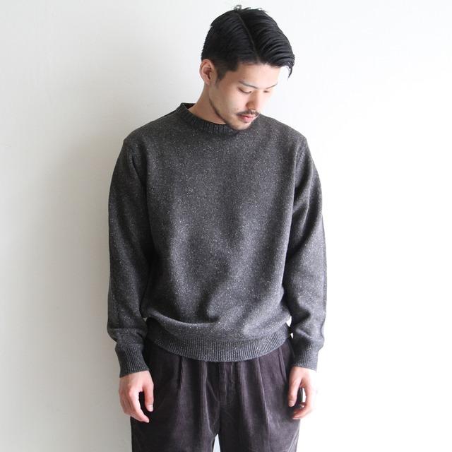STILL BY HAND【 mens 】 crew neck knit