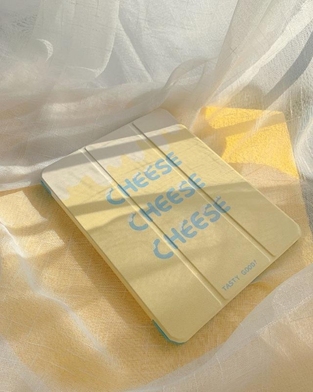 cheese design iPad case