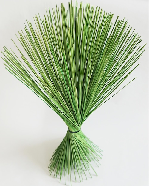【イ草フラワー グリーン】Rush Grass Flower Green 35cm