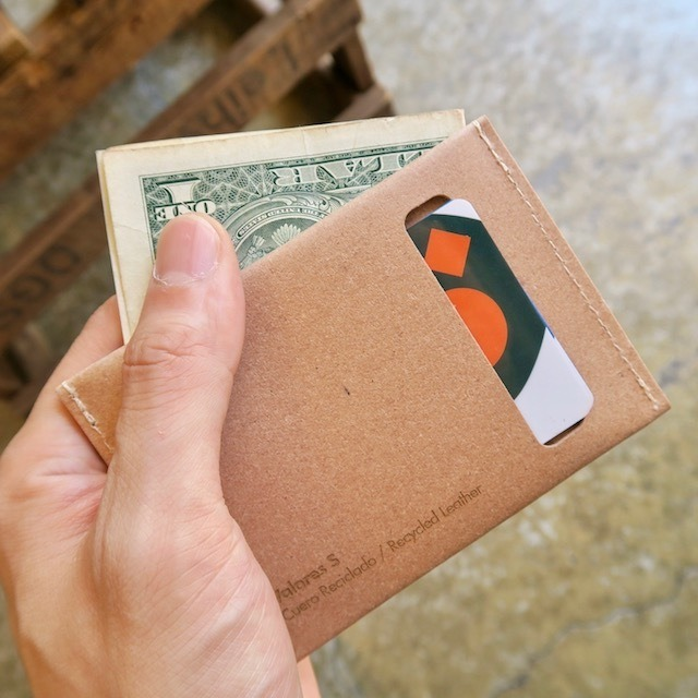 Planar  Wallet & Card Case -Natural-