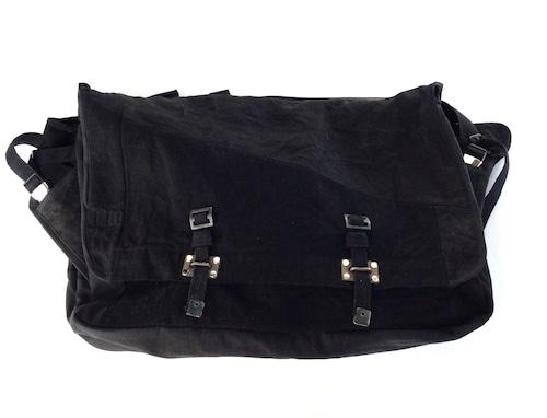 Vintage Messenger Bag black 【messenger04】