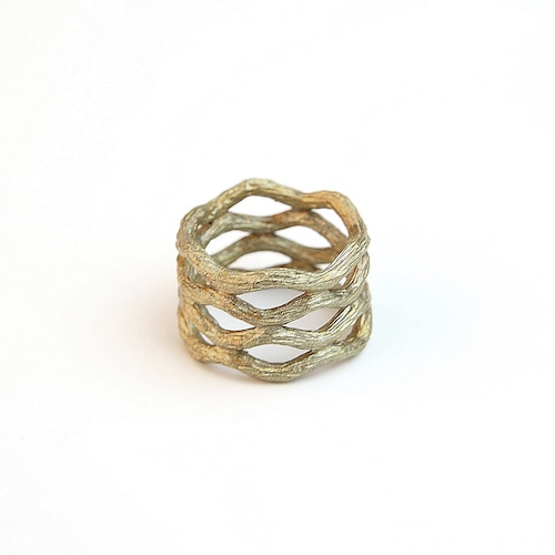 Raw brass Ring RG-038