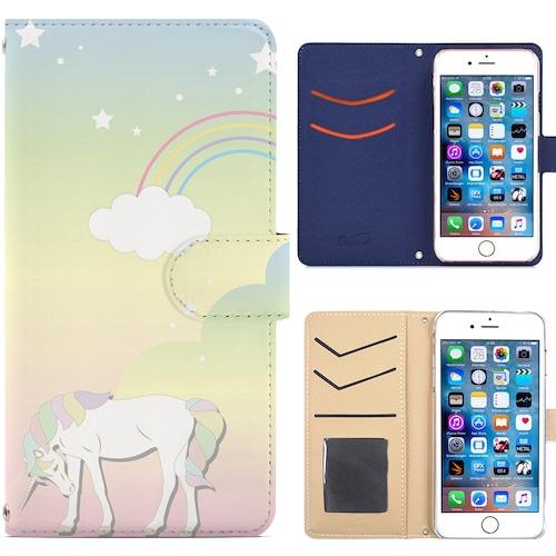 Jenny Desse iPhoneX ケース 手帳型 カバー スタンド機能 カードホルダー イエロー(ホワイトバック)