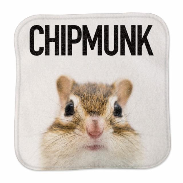 ミニハンカチタオル/CHIPMUNK②/MH-MA-001