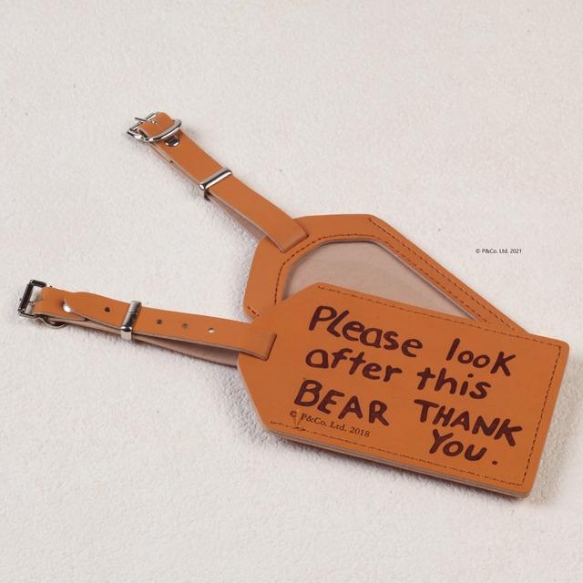 「くまのパディントン™展」展覧会オリジナルのICカード入れ