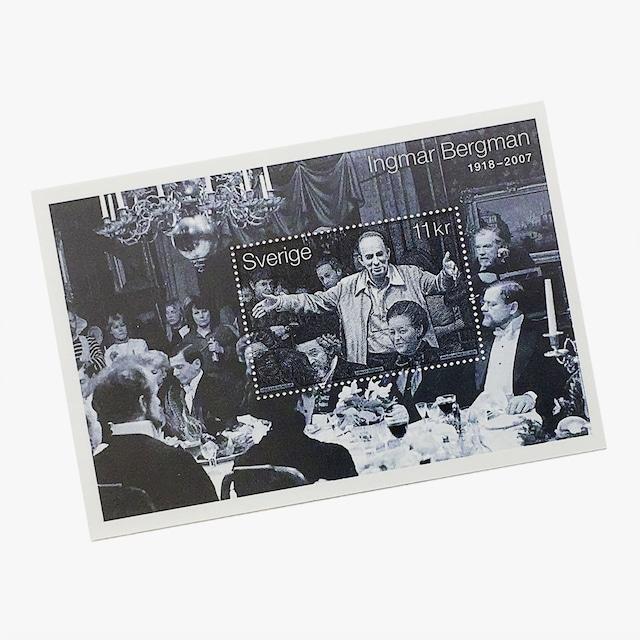 切手シート(未使用)「映画監督イングマール・ベルイマン(2008年発行)」
