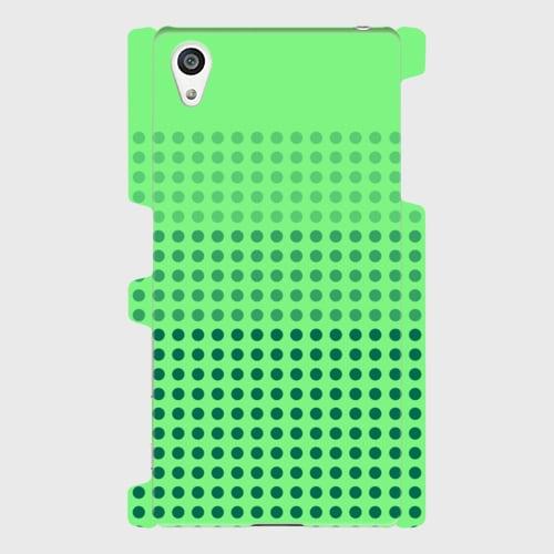 昭和デザイン(緑) / Androidスマホケース(ハードケース)