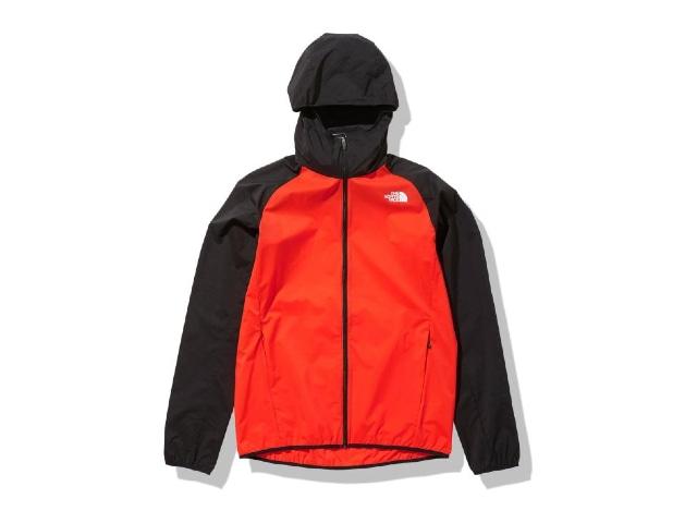 【TNF】 Men's Swallowtail Vent Hoodie(Flare orange)