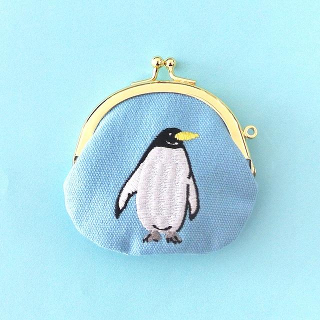 《鳥/ペンギン》 ペンギン がまぐちポーチ 小銭入れ