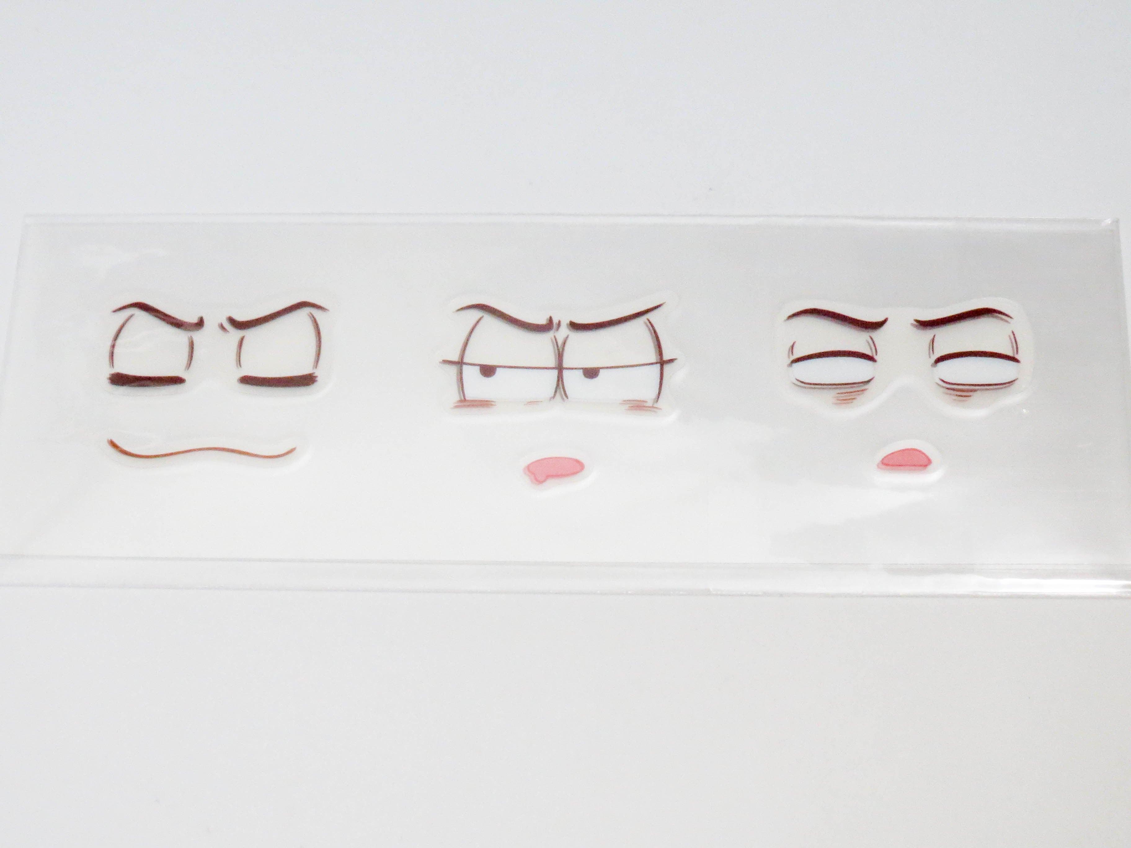 【624】 松野カラ松 小物パーツ 表情シール ねんどろいど
