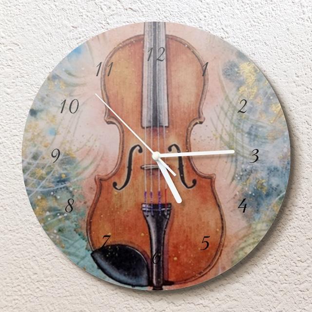 森の音 壁掛け時計(L)