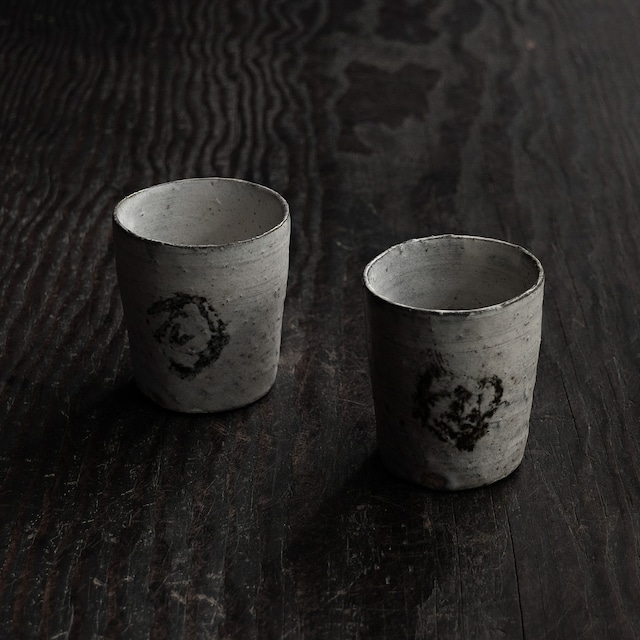 粉引湯呑 uchida yoshimi