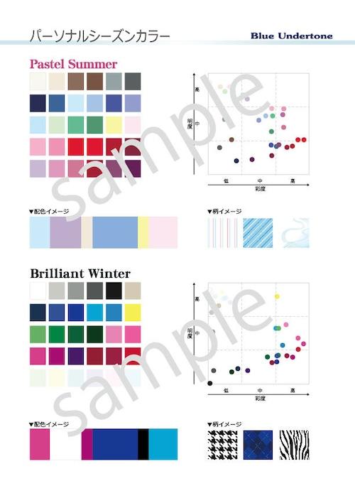 ポスターTypeC(A3)色調配置図付 アンダートーン2枚セット