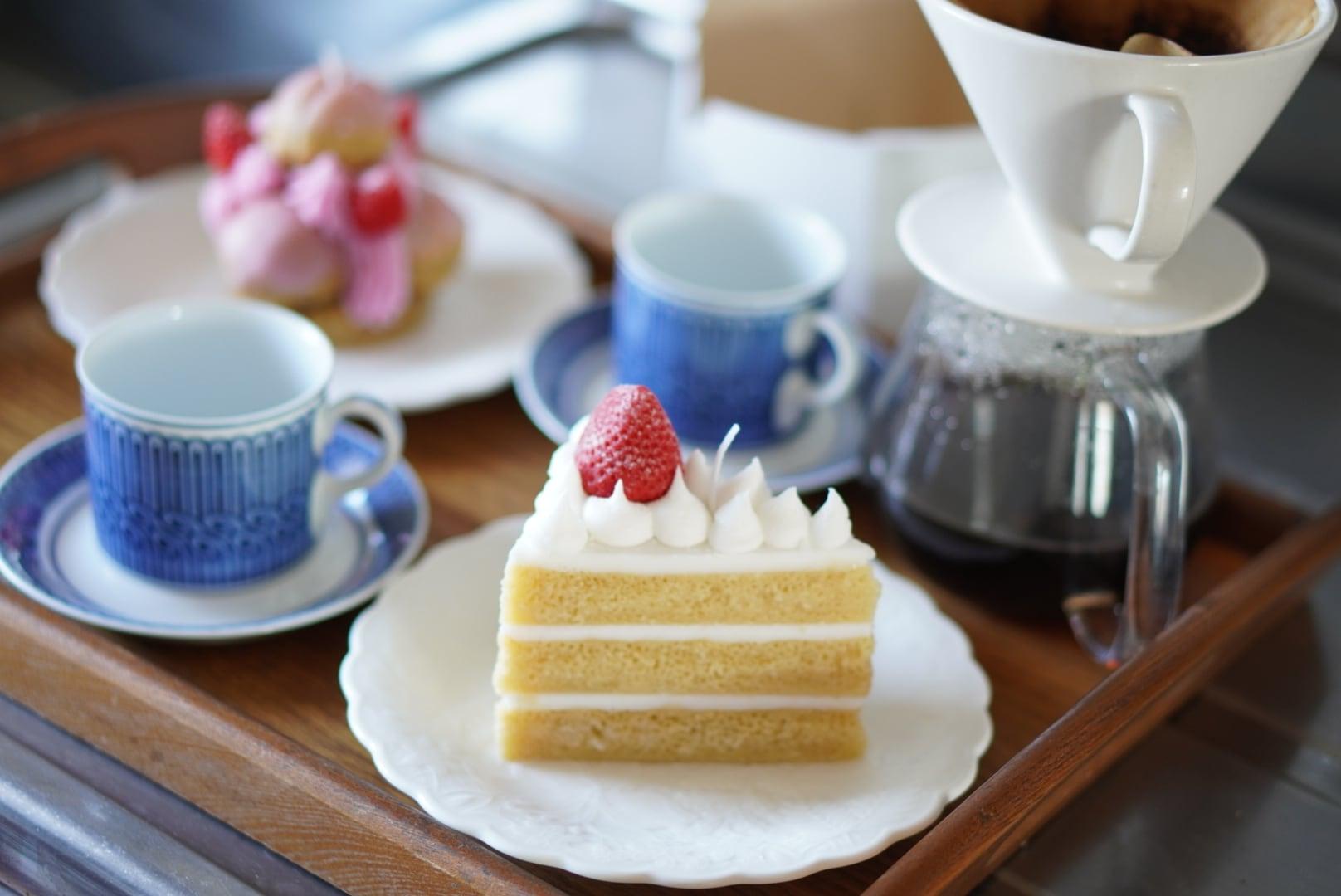 ショートケーキのキャンドル