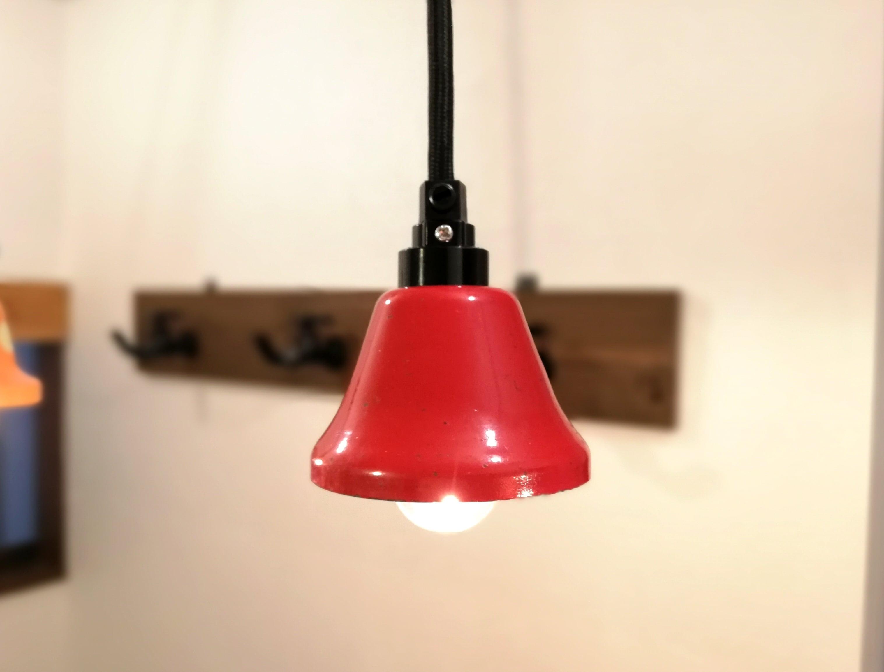 Pendant Light「Music Bell」Red