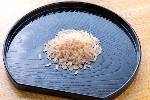 (送料込み) 福井県産長粒米 越穂 白米 900g (6合)