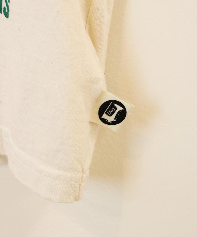 乗り物プリント半袖TEE(日本製)